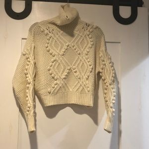Bobble Crop Sweater